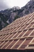 Delta Foxx páraáteresztő tetőfólia a tetőn