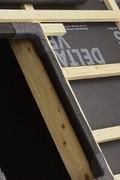 Delta Vent S páraáteresztő tetőfólia a tetőn