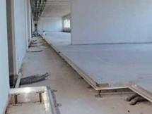 gipszkarton üreges padló