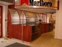 dohányáru üzletberendezés