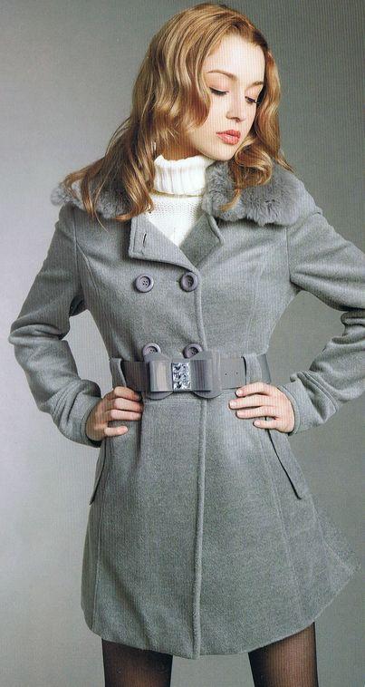 női szövet kabátok