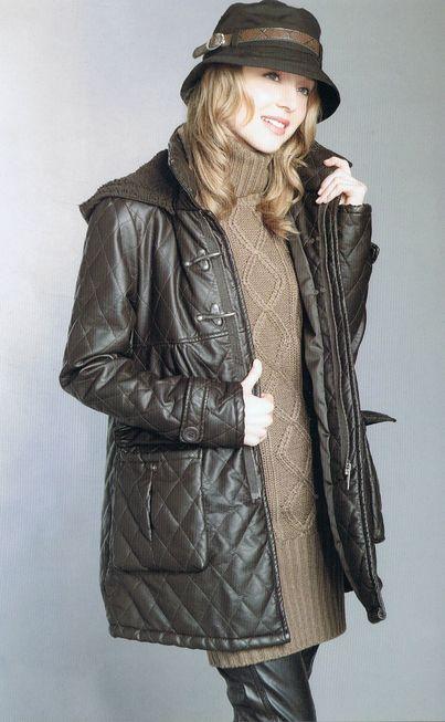bőr női kabátok