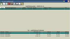 Áruforgalmi szoftver 2.