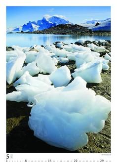 Antarctica naptár belül