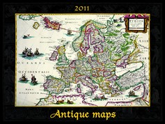 Antique maps naptár