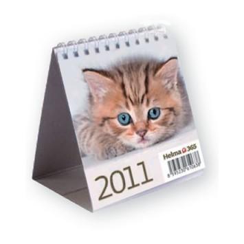 Cicás gyerek asztali naptár