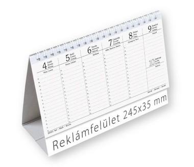 Egyszerűbb álló asztali naptár