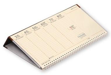 Jegyzettömbös asztali naptár