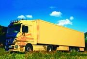 Kamion speditőr naptár fejrész