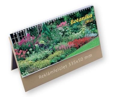 Botanika képes asztali naptár