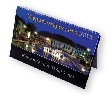 Magyarországot járva képes asztali naptár
