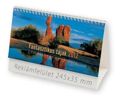 Fantasztikus tájak képes asztali naptár