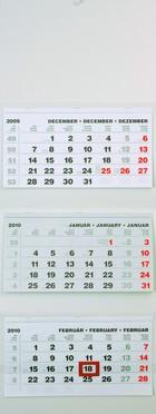 T070 speditőr naptár kép nélkül