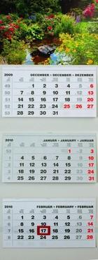 T070 speditőr naptár képpel