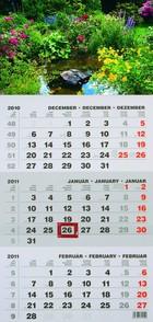 T072 speditőr naptár képpel