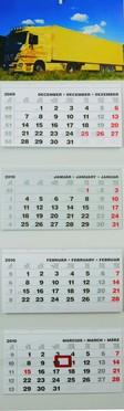 T073 speditőr naptár képpel