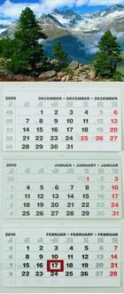 T074 speditőr naptár képpel
