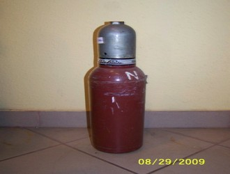 Acetilén palack