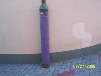 Sűrített levegő palack