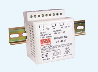 DIN sínes tápegység DR-4512