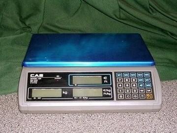 CAS ER-15C mérleg