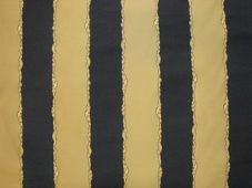 Arany-kék csíkos sötétítő függöny