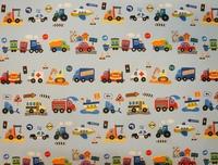 Autós gyerek függöny
