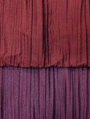 Györgyi gyűrt bordó-lila sötétítő függöny
