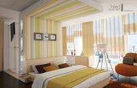 InteriArt dekorfüggöny sárga