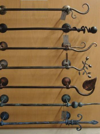 kovácsolvas karnis kézi különböző antikolt és uni színekben