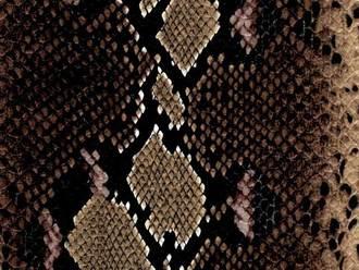 kígyó mintázatú műbőr