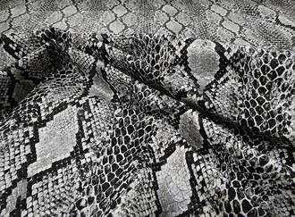 kígyó mintázatú műbőr pals naja