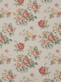 Közepes rózsás dekorfüggöny