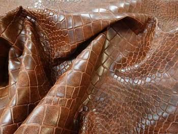 krokodil műbőr 140cm széles