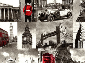 MASSIMO - LONDON műbőr