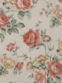 Nagy rózsás dekorfüggöny