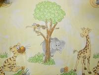 Safaris voile gyerek függöny