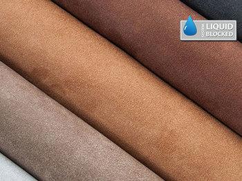 textilbőr barna