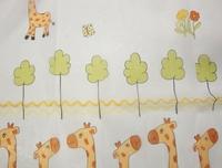 Zsiráfos fényáteresztő gyerek függöny