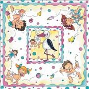 akciós szalvéta baba születik sorozat, baba születik