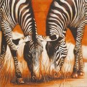 szalvéta afrikai sorozat, zebrák