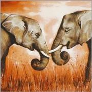 szalvéta afrikai sorozat, elefántok