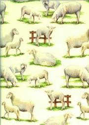 Tassotti dekupázs papír bárány