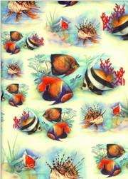 Tassotti dekupázs papír halak