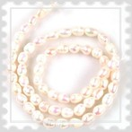tenyésztett gyöngy fehér