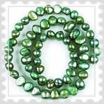 tenyésztett gyöngy zöld