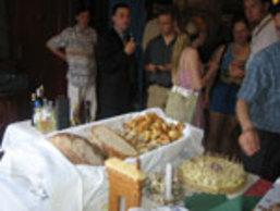 Ballagási rendezvény sós süteményei