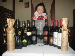 Erdélyi vörösbor paletta