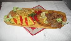 Kétszemélyes  erdélyi fatálas ételek