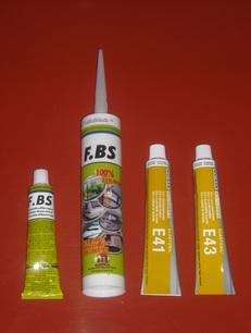 Szilikon ragasztó : FBS , E-41 , E-43